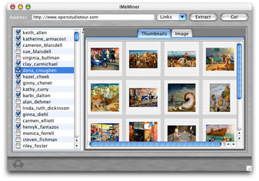 Batch Downloader; Picture Downloader; Image Downloader Utility screen shot